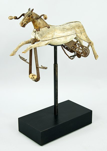 A 19th Century French Child's Horse.
