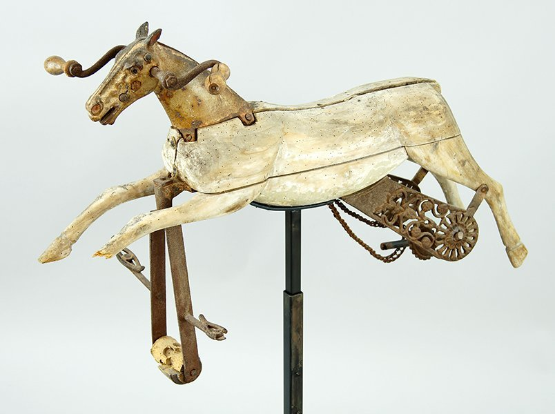 A 19th Century French Child's Horse. - 2