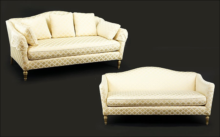 A Pair of Contemporary Sofas.