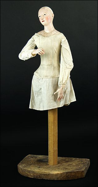 A 19th Century Neopolitan Ceremonial Doll.