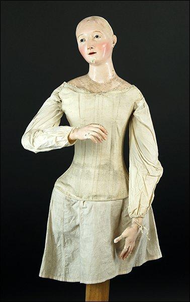 A 19th Century Neopolitan Ceremonial Doll. - 2