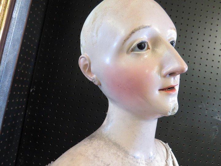 A 19th Century Neopolitan Ceremonial Doll. - 6