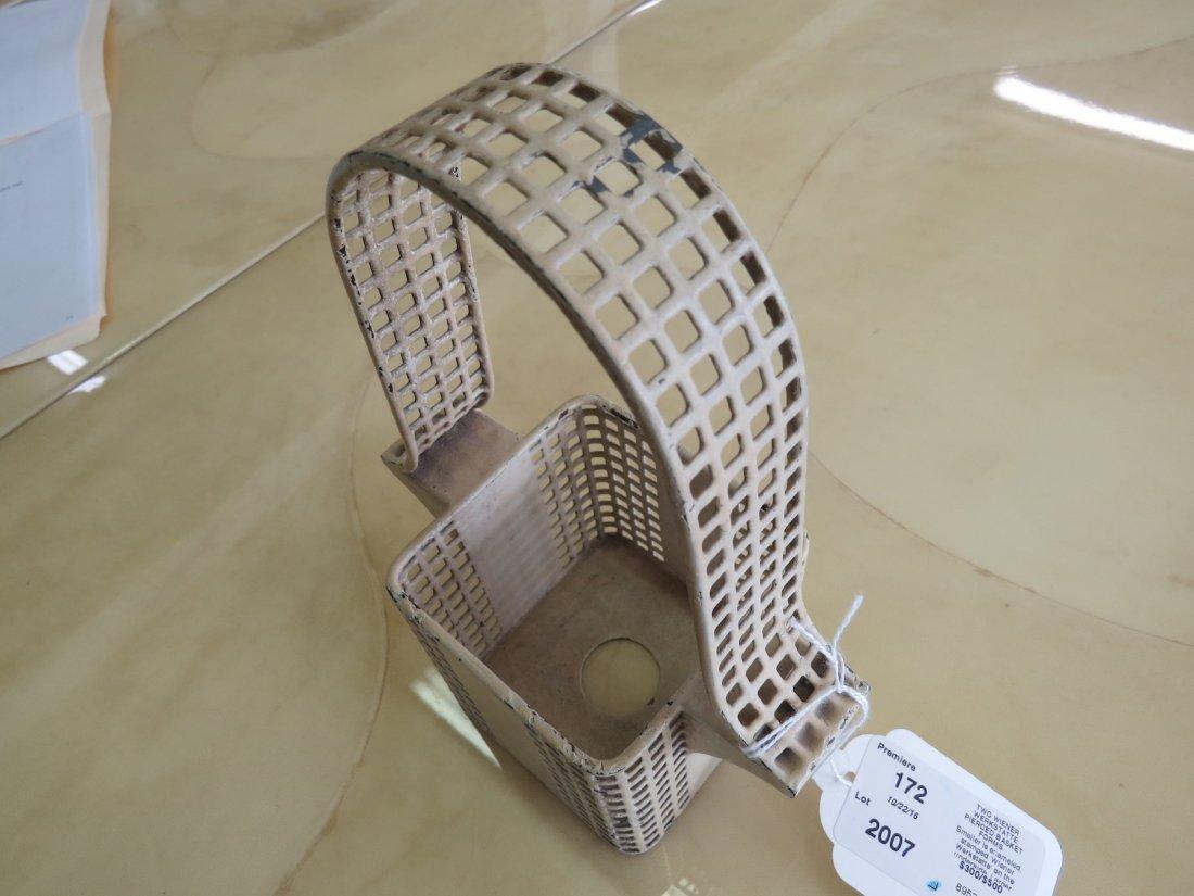Two Wiener Werkstatte Pierced Basket Forms. - 2