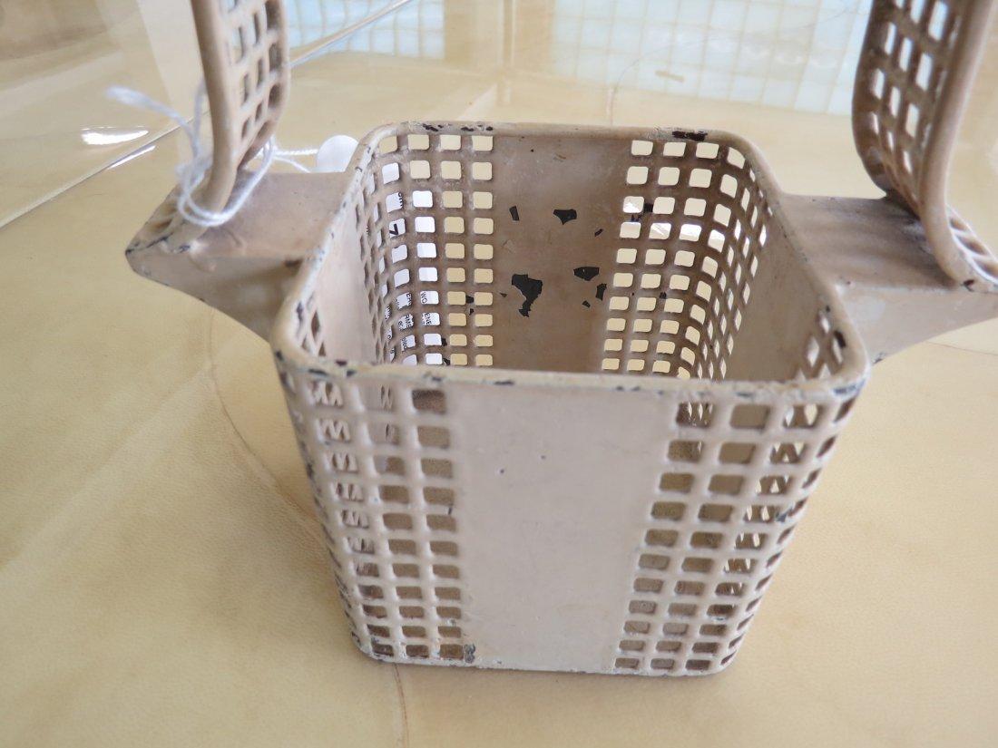 Two Wiener Werkstatte Pierced Basket Forms. - 5