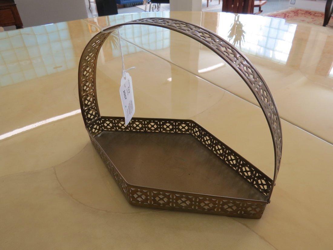Two Wiener Werkstatte Pierced Basket Forms. - 6