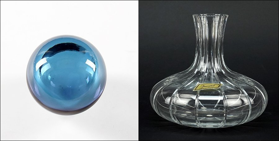 A Baccarat Crystal Wine Decanter.