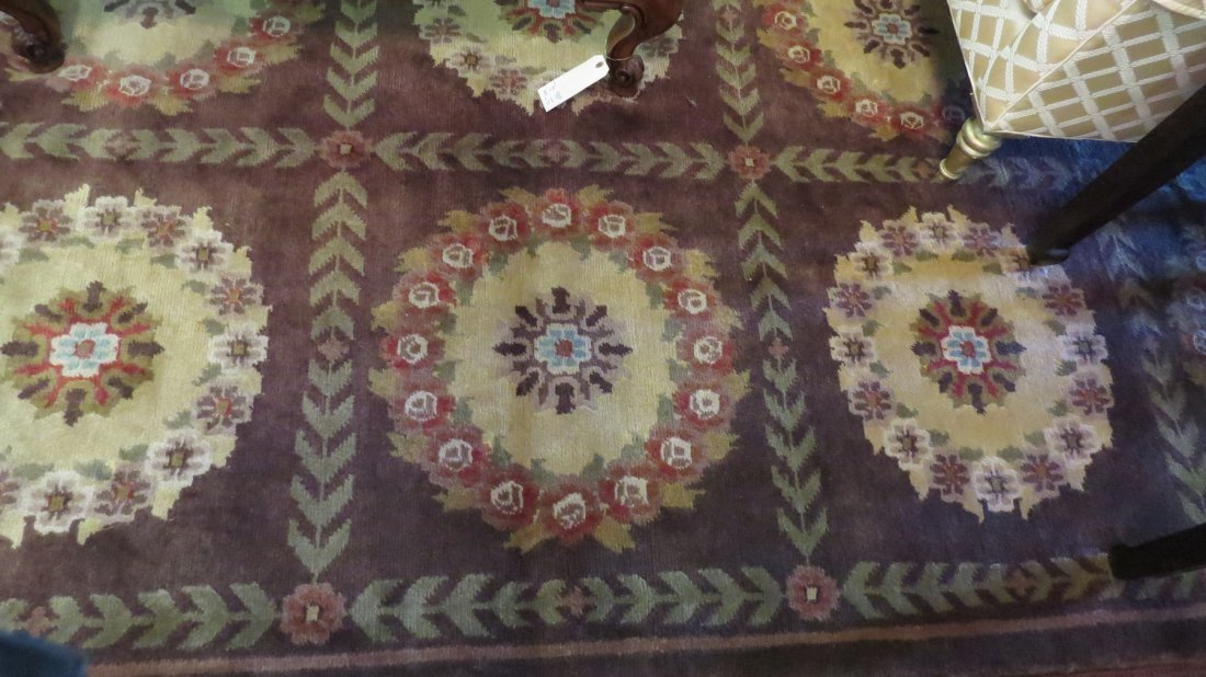 An Aubusson Savonnerie Style Carpet. - 3