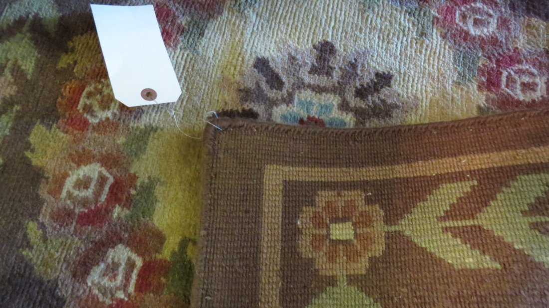 An Aubusson Savonnerie Style Carpet. - 4