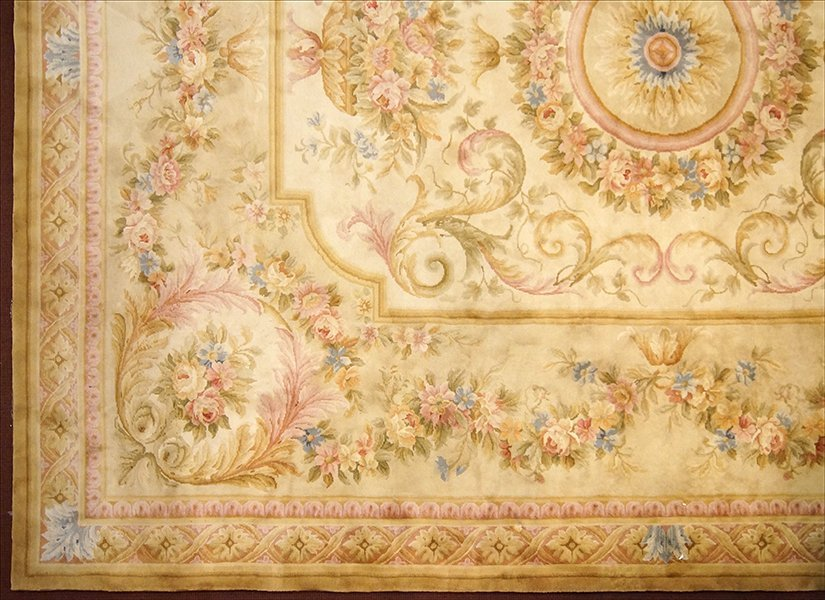 An Aubusson Savonnerie Carpet.