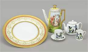 A Collection of Czech Porcelain Table Articles.