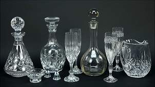 A Waterford Crystal Pitcher.