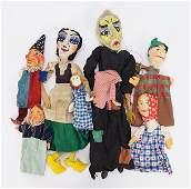Folk Art Paper Mache Puppets Marionettes