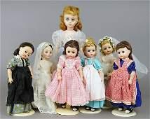 Vintage Madame Alexander Dolls.