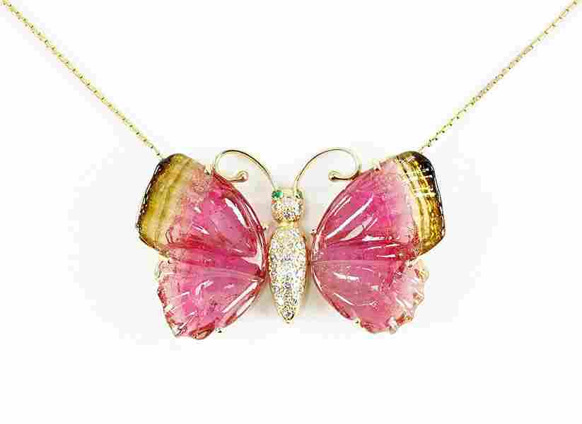 A Butterfly Necklace.