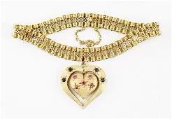 An 18 Karat Yellow Gold Bracelet