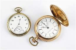 Two Goldfilled Pocket Watches.