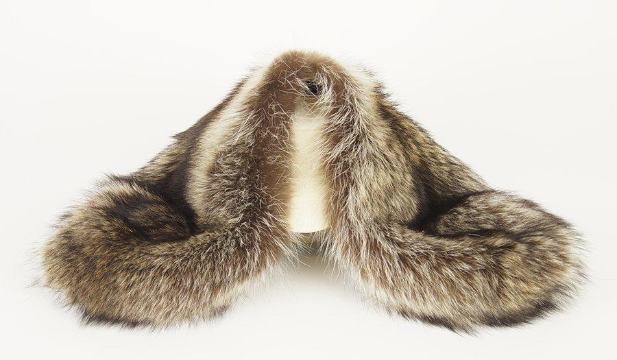 A Marni Raccoon Fur Shrug.