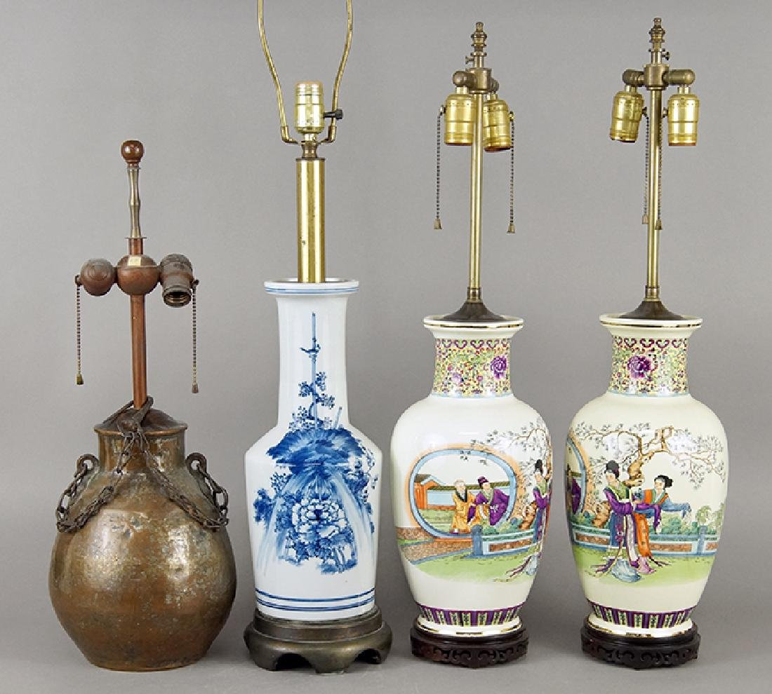 A Group of Lamps.