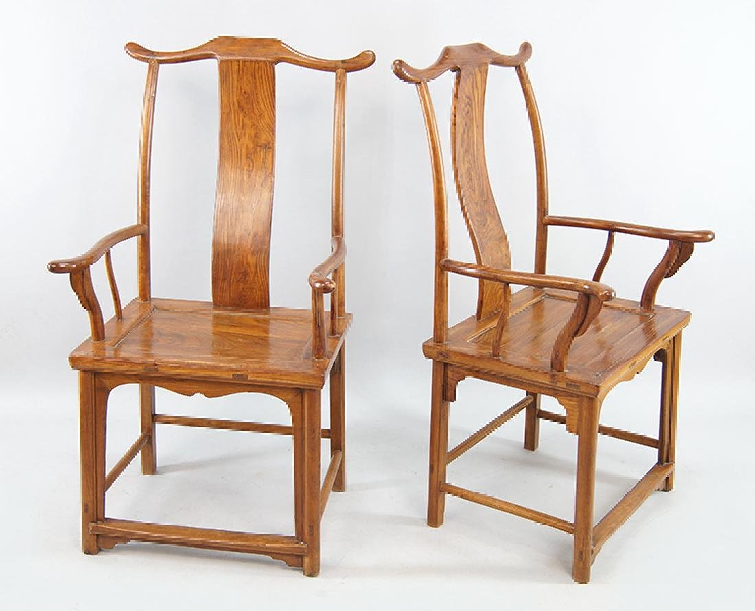A Pair of Chinese Chairs.