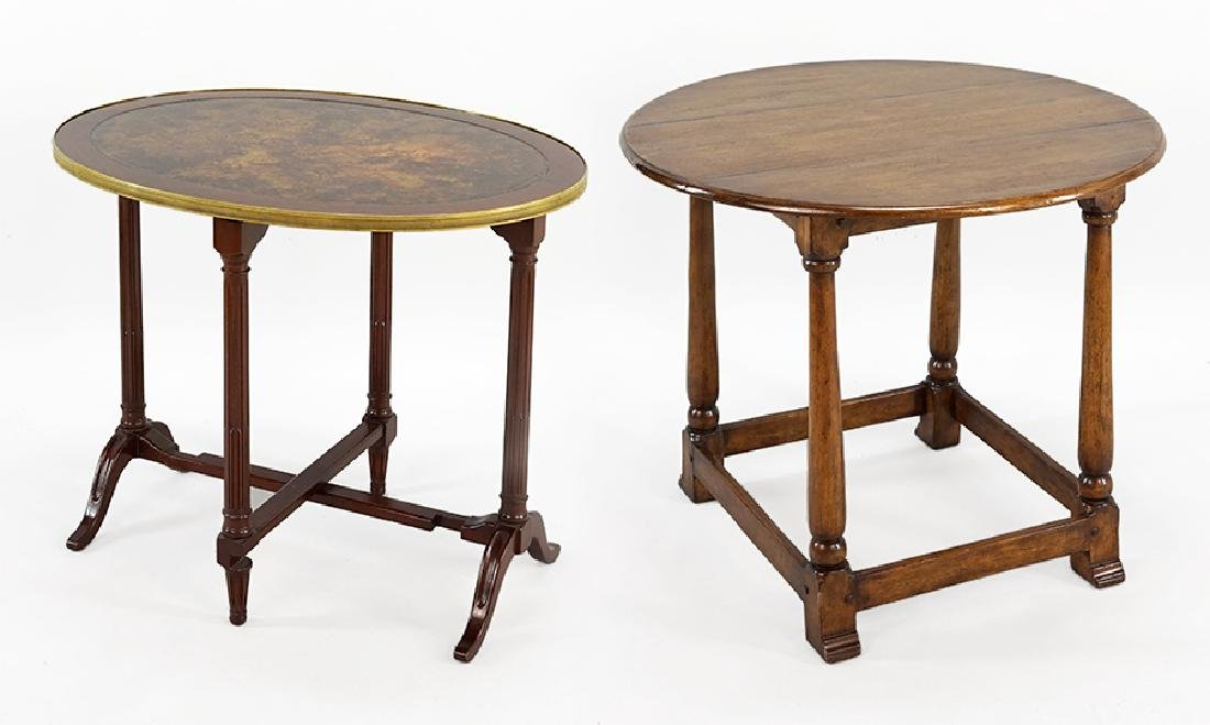 A Regency Style Gate Leg Table.
