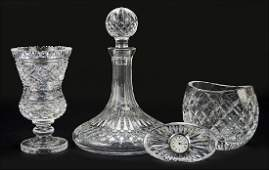 A Group of Waterford Crystal Table Articles.