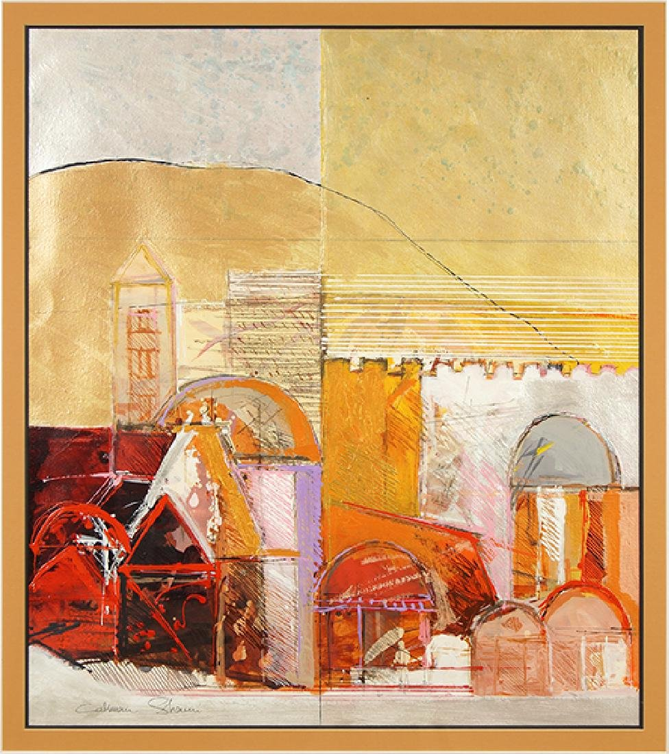 Calman Shemi (Argentinian, B. 1939) Domes and Arches.
