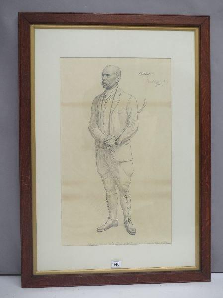 BASIL NIGHTINGALE (1864-1940) Portrait of Field