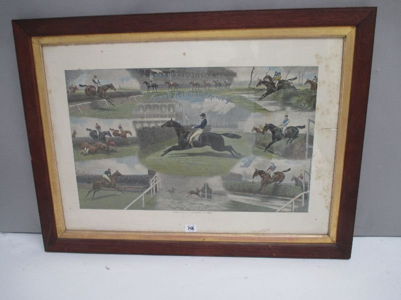 After John Beer, hand-coloured engraving, Fore's 'Grand