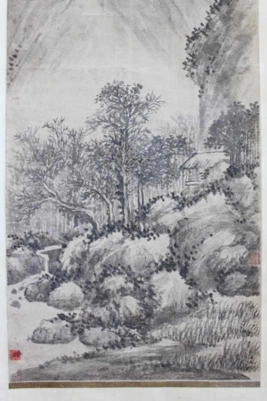 WANG Shimin (1592-1680) Ex-Japanese Old Collection - 8