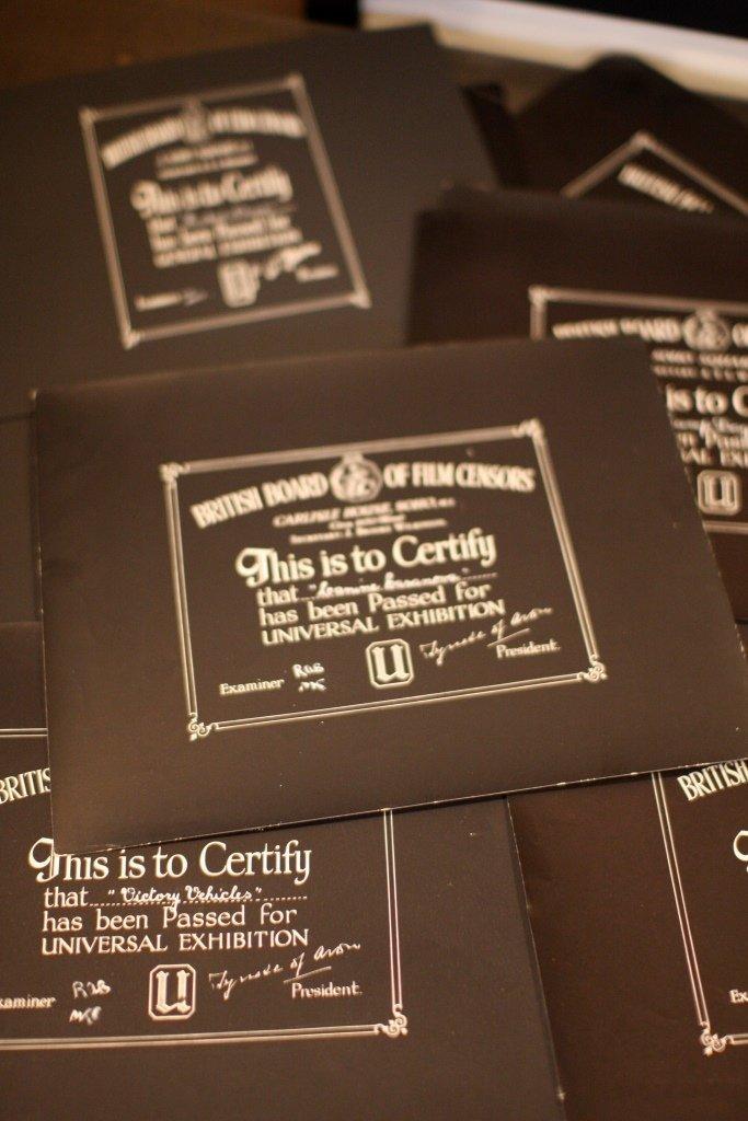 Disney Miscellaneous & Obscure BBFC Certificates