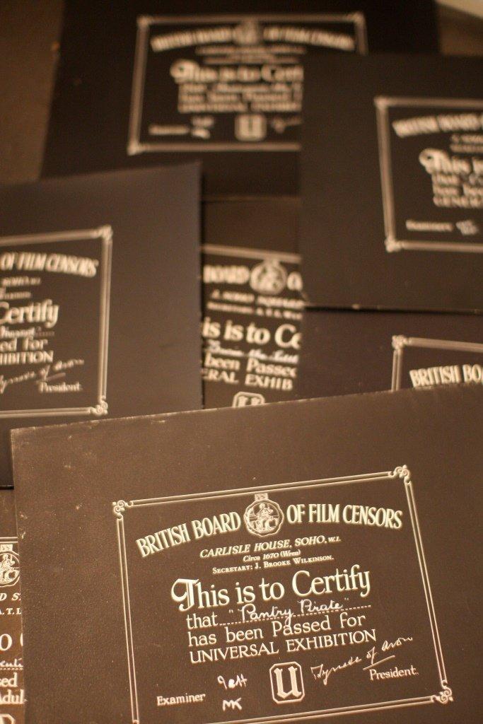 Disney Miscellaneous & Obscure 4 BBFC Certificates