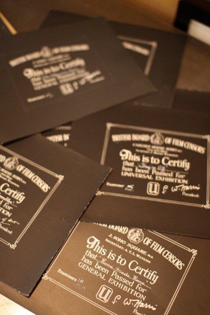 Disney Miscellaneous & Obscure 5 BBFC Certificates