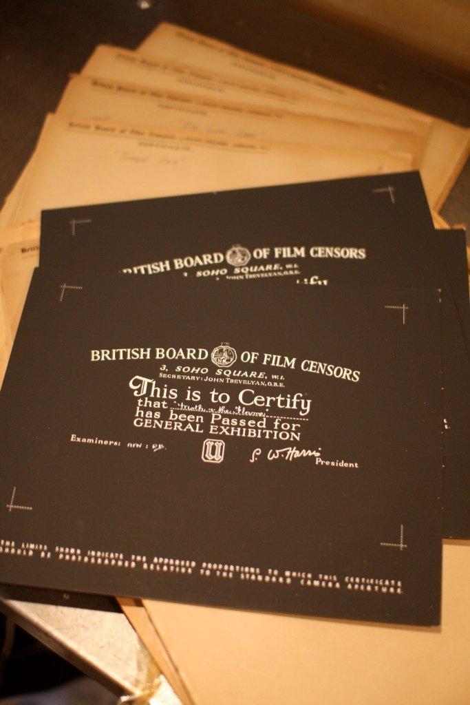 Disney Miscellaneous 2. 28 x BBFC Certificates