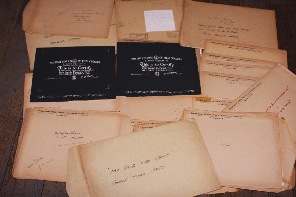Disney Miscellaneous 4. 42 x BBFC Certificates