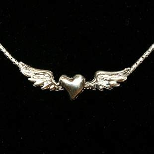 Stevie Nicks Silver Necklace