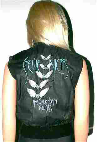 Stevie Nicks Personal Owned 'Wild Heart' Tour Vest