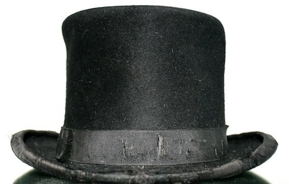 Stevie Nicks Stage Worn Top Hat from Tusk Tour