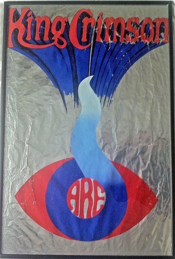 King Crimson Silkscreen