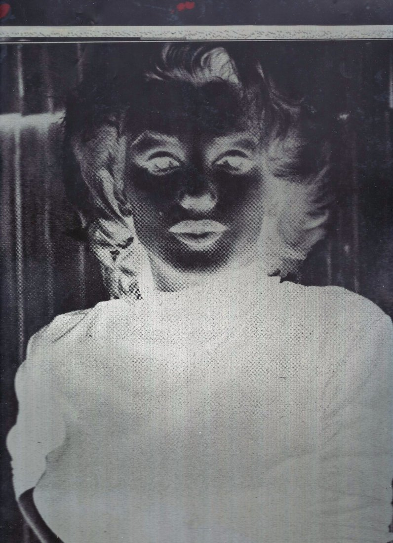 Marilyn Monroe Transparency/With Copyright.