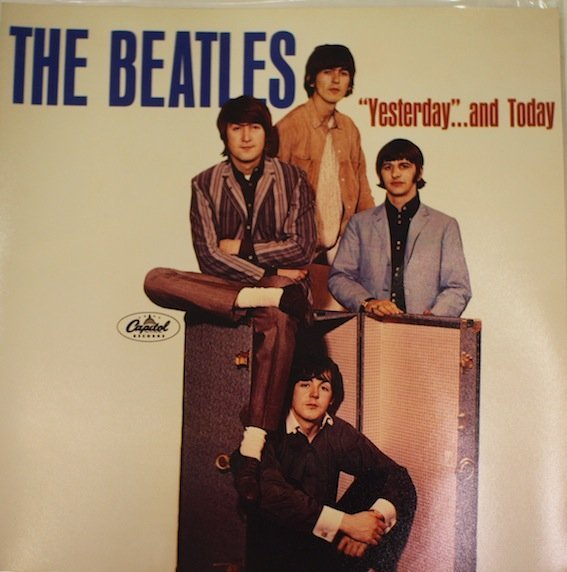 The Beatles.  Yesterday and Today alternative cover