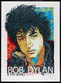 Bob Dylan Red limited edition Concert Poster
