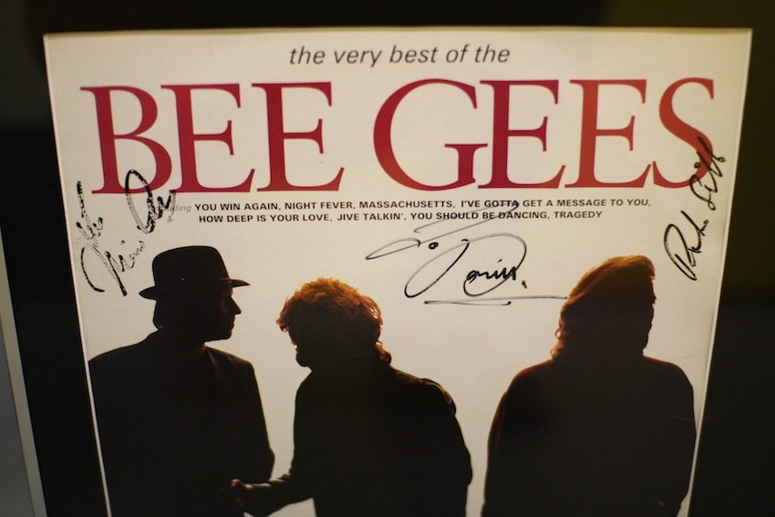 Bee Gees , The Very Best of the Bee Gees signed
