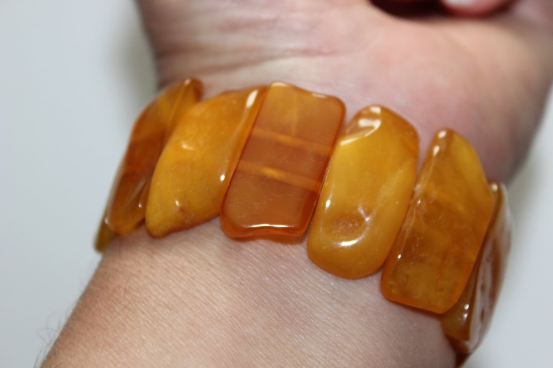 Butterscotch Baltic Amber Bracelet