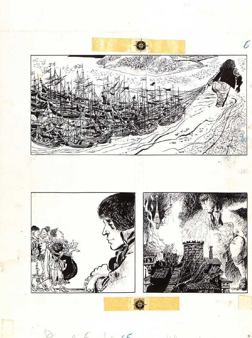"""Battaglia Dino - """"Gulliver a Lilliput"""", 1969"""