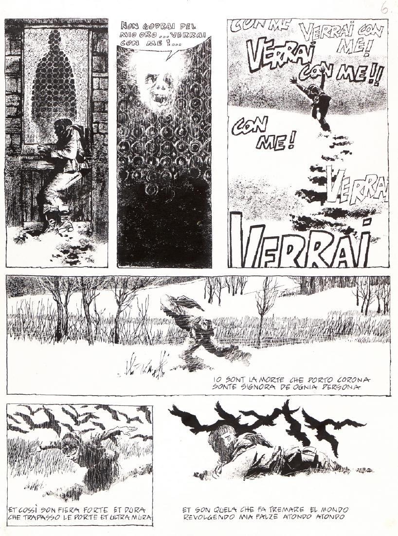 """Battaglia Dino - """"Totentanz"""", 1970"""