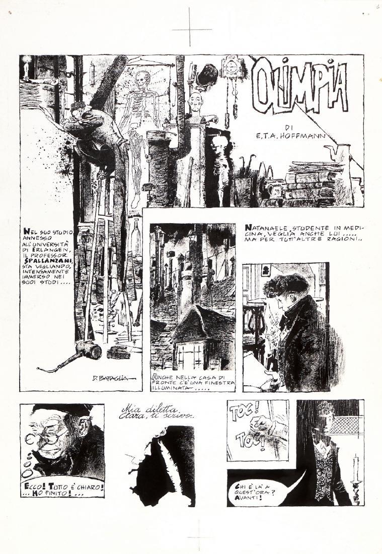 """Battaglia Dino - """"Olimpia"""", 1970"""