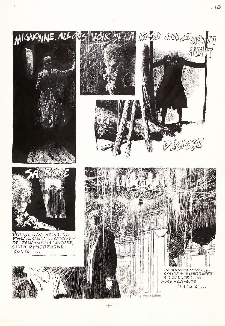 """Battaglia Dino - """"La casa disabitata"""", 1970"""