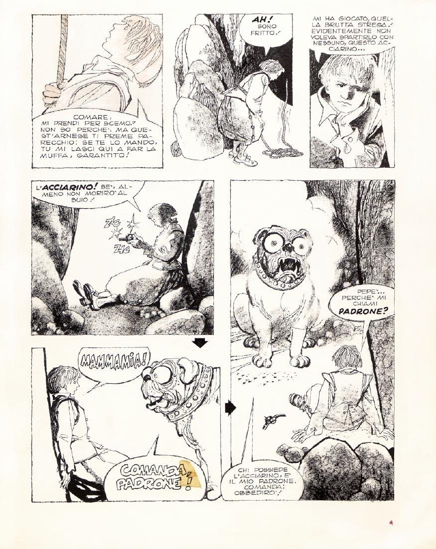 """Battaglia Dino - """"L'acciarino"""", 1974"""