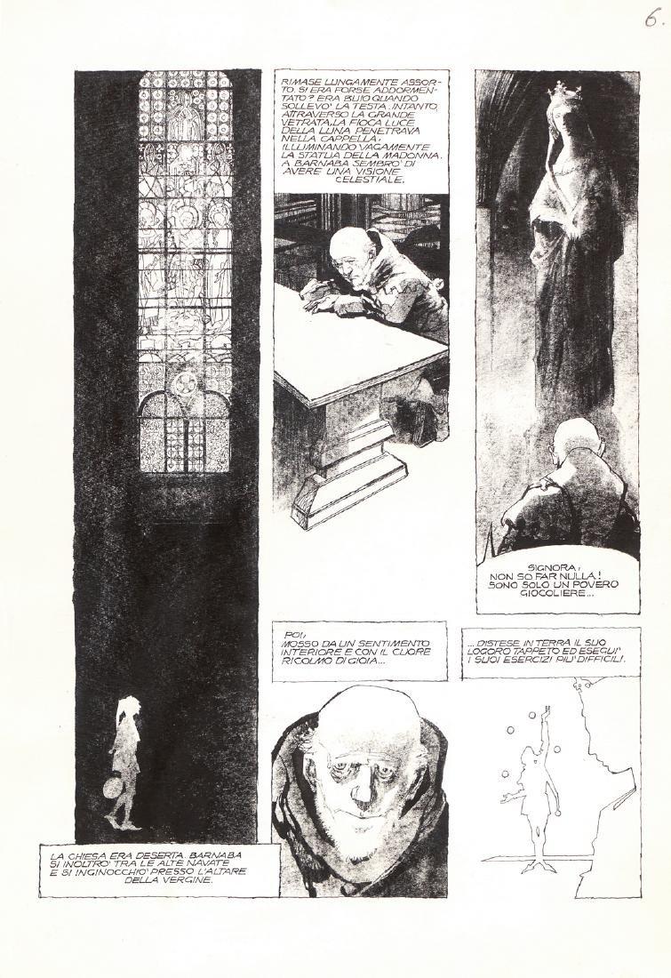 """Battaglia Dino - """"Il giocoliere della Madonna"""", 1976"""