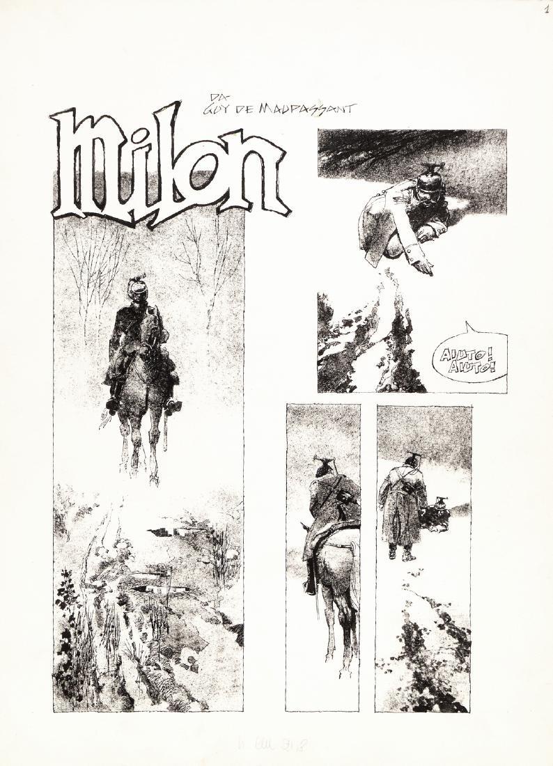 """Battaglia Dino - """"Milon"""", 1977"""